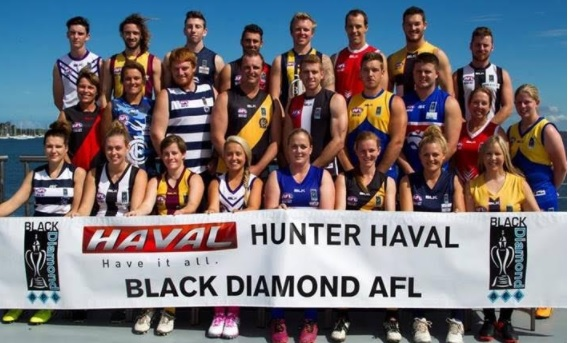 Hunter Havel Black Diamond AFL