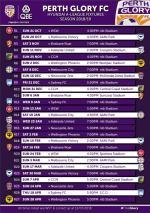 Glory's 2018/19 Hyundai A-League fixtures released