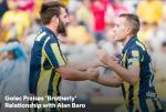 Golec Praises 'Brotherly' Relationship with Alan Baro
