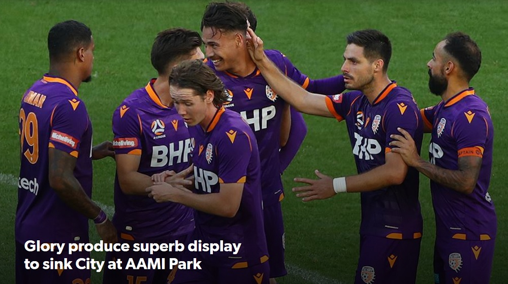 Perth Glory FC vs Melbourne City FC