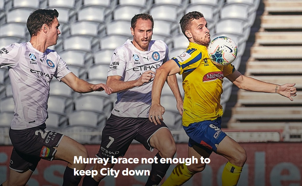 Murray brace not enough to keep City down