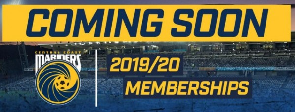 Coming soon 2019/20 memberships