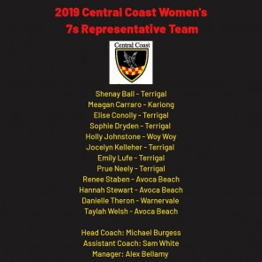 Womens Rugby 7s Team List.