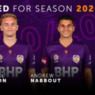 Perth Glory Media Release: Glory swoop for exciting duo