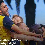 Mariners finish 2020 on top with derby delight